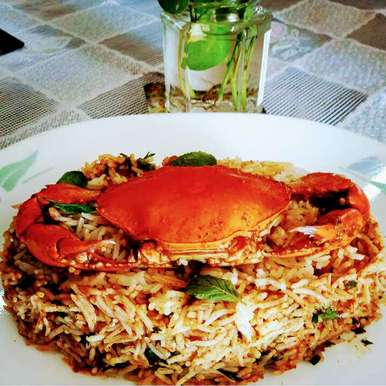 Photo of Crab Biryani by Sadhana Khedekar at BetterButter