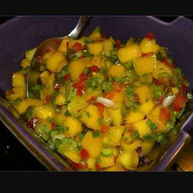 Photo of Mango salsa by Sagheera Hassan at BetterButter