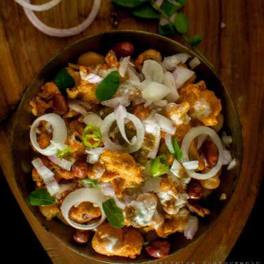 Photo of Pakodi-Chaat by Sai Priya at BetterButter