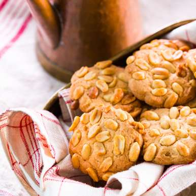 Photo of Peanut cookies by Sakshi Khanna at BetterButter