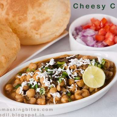 Photo of Cheesy Chole by Salma Godil at BetterButter