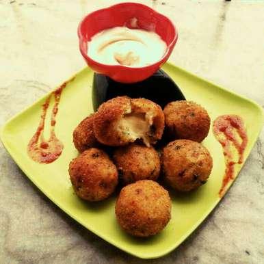 Photo of Potato cheese ball by Sanchari Karmakar at BetterButter