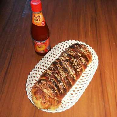 Photo of Chicken cheese bread by Sanchari Karmakar at BetterButter