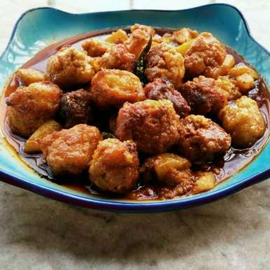 Chingri macher muithya recipe in Bengali,চিংড়ি মাছের মুইঠ্যা, Sanchari Karmakar