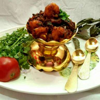 Photo of masala prawn (Andhrapradesh style) by Sanchari Karmakar at BetterButter