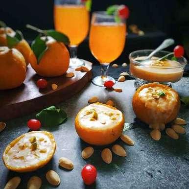 Photo of Orange kheer by Sanchari Karmakar at BetterButter