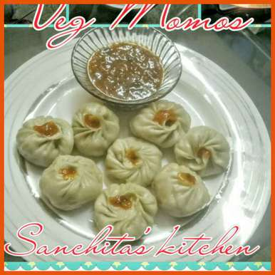Photo of Steamed Vegetable and Paneer Momos by Sanchita Agrawal Mittal at BetterButter