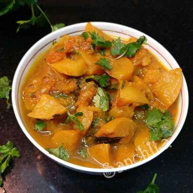 Photo of Shalgam curry by Sanchita Agrawal Mittal at BetterButter