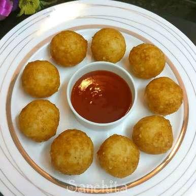 Photo of Cheesy Sago Bombs by Sanchita Agrawal Mittal at BetterButter