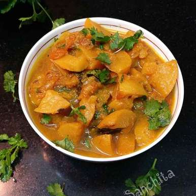 Photo of Shalgam Masala Curry /Turnip Masala Curry by Sanchita Agrawal Mittal at BetterButter