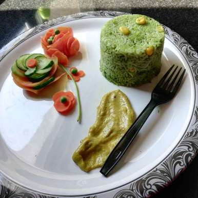 Photo of SPINACH RICE by Sandhya Rani Vutukuri at BetterButter