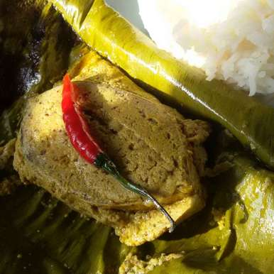 Photo of Ilish (Hilsa)paturi (Hilsa fish cooked in Coconut and mustard paste) by Sangeeta Biswas at BetterButter