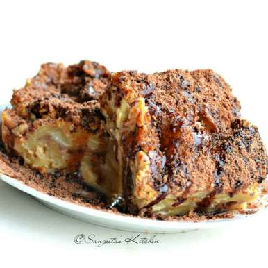 Photo of Pasta Payes Chocolate Lasagne by Sangeeta Basak at BetterButter