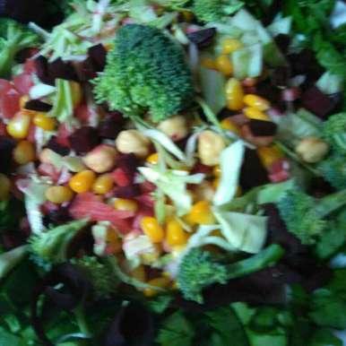 Photo of Kabuli chane ka salad by Sangeeta Bhargava . at BetterButter