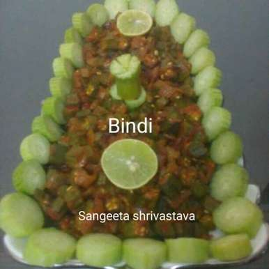 Photo of Bhindi by Sangeeta Shrivastava at BetterButter