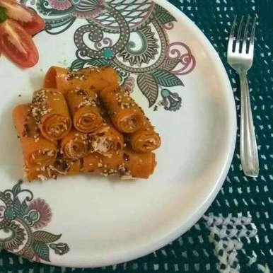 Photo of Cheesetomatokhandvi by Sangita Jalavadiya at BetterButter