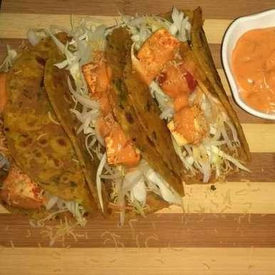 Photo of Thepla_Tacos by Sangita Jalavadiya at BetterButter