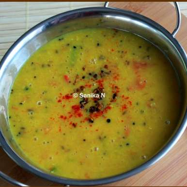 Photo of Bengali Panchphoron Dal by Sanika SN at BetterButter
