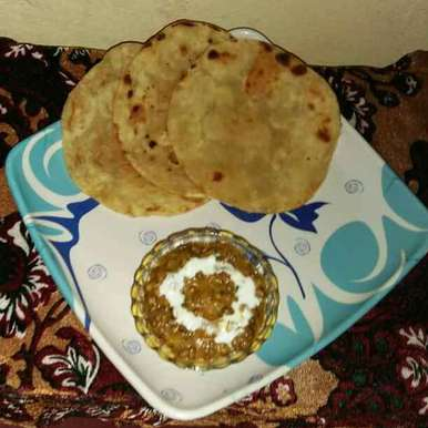 Photo of Plain paratha by Sanjhbati sen at BetterButter