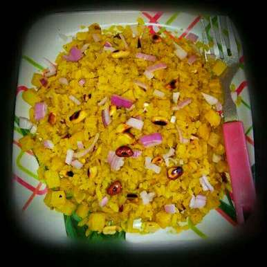 Photo of Potato poha by Sanjhbati sen at BetterButter