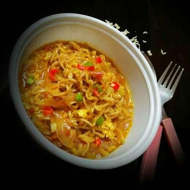 Photo of Masala Egg Maggi Soup by Sanjhbati sen at BetterButter