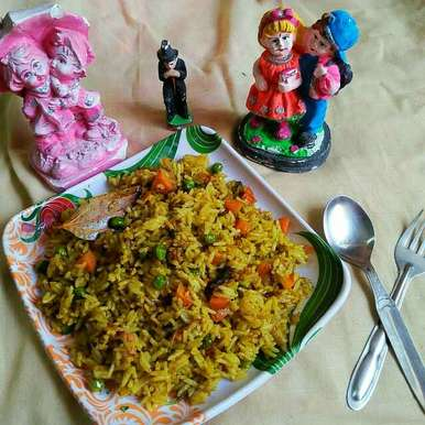 Photo of Masala Coriander rice by Sanjhbati sen at BetterButter