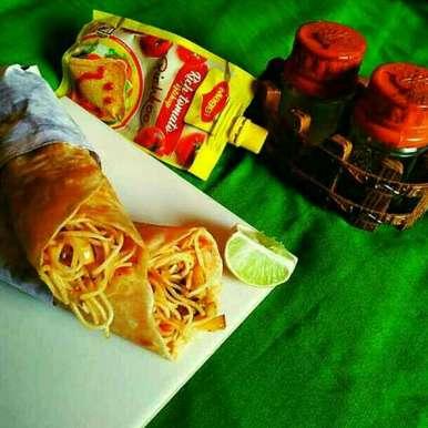 Photo of Schezwan Noodles Frankie by Sanjhbati sen at BetterButter