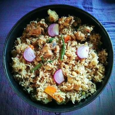 Photo of Veggie Chicken Tahari by Sanjhbati sen at BetterButter