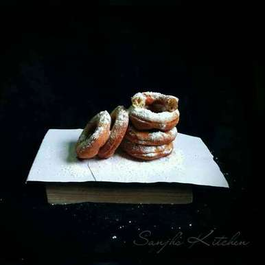 Photo of Homemade Banana Donut's by Sanjhbati sen at BetterButter