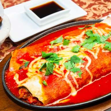 Photo of Chicken Enchilada with sauce by Sanjula Thangkhiew at BetterButter