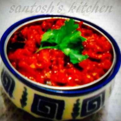 Photo of Tomato chutney by Santosh Bangar at BetterButter