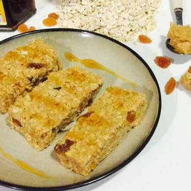 Photo of Honey Peanut Butter Oats Bars by Santosh Bangar at BetterButter
