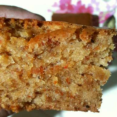 Photo of Dates and Carrot cake by Sanuber Ashrafi at BetterButter