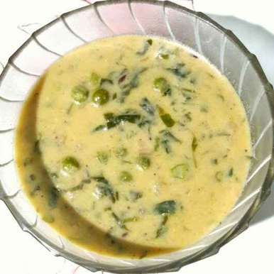 Methi Matar malai, How to make Methi Matar malai