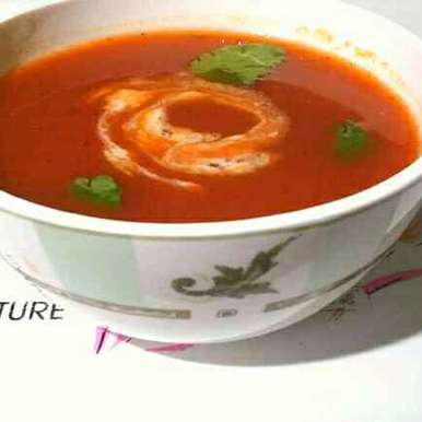 Photo of Tomato soup by Sanuber Ashrafi at BetterButter