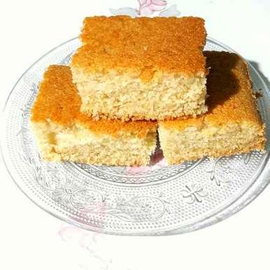 Photo of Eggless Rava cake  in kadahi by Sanuber Ashrafi at BetterButter