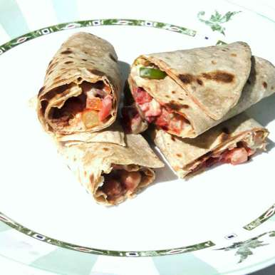 Photo of Beans and chickpeas veg burritos by Sanuber Ashrafi at BetterButter