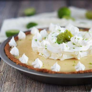 Photo of Key Lime Pie by sapana behl at BetterButter