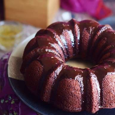 Photo of Chocolate Beetroot Bundt Cake by sapana behl at BetterButter
