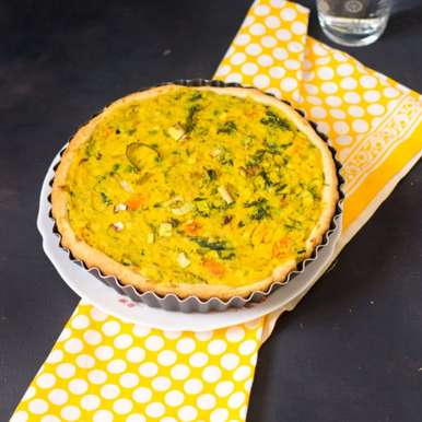 Photo of Mustard & Leek Quiche by sapana behl at BetterButter