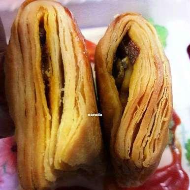 Photo of puff pastry in karahi... by Sarada Shreya at BetterButter