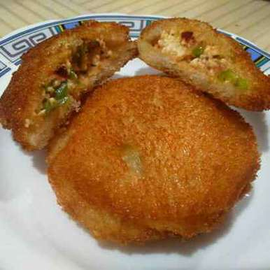 Photo of Instant Bread Paneer Kachori by Sarala Nahar at BetterButter