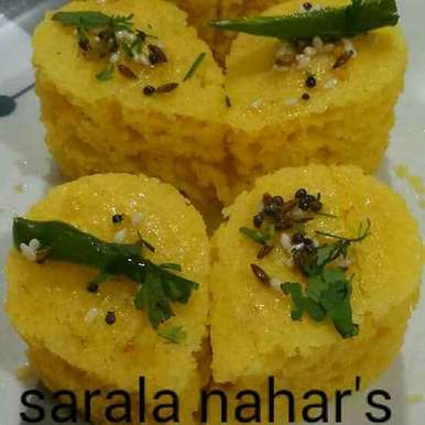 Photo of Instant besan dhokla by Sarala Nahar at BetterButter