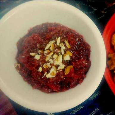Photo of Apple Beetroot Carrot Halwa a.k.a ABC Halwa by Saranya Sridharan at BetterButter