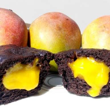 Photo of 1 minute molten mango lava chocolate cake by Saranya Manickam at BetterButter