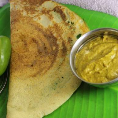 Photo of BELL PEPPER CHUTNEY WITH SPICY DOSA by Saranya Manickam at BetterButter