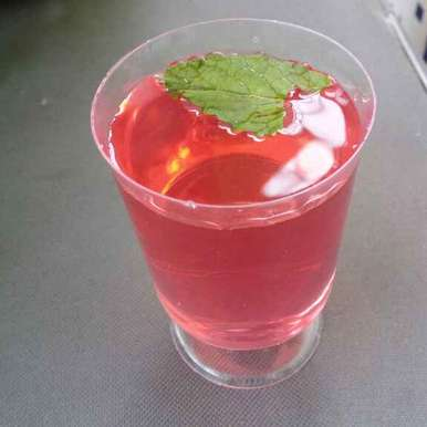 Photo of Hibiscus flower juice by saranya sathish at BetterButter