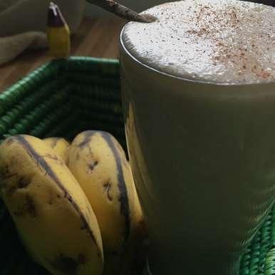 Photo of Banana Cinnamon Smoothie by Sarenya Dhevi at BetterButter
