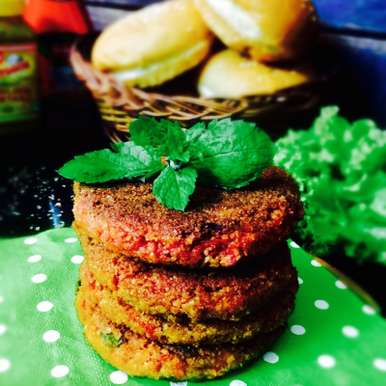 Photo of Dalia and Paneer veggie Patties by Saswati Hota at BetterButter