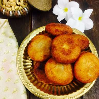 Photo of Bhaja Suji Manda Pitha by Saswati Hota at BetterButter